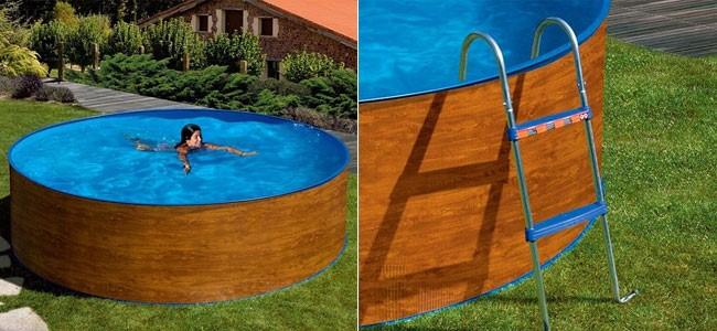 Cinco modelos de piscinas baratas bonnett for Piscinas de plastico baratas alcampo