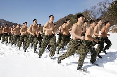 latihan askar Korea