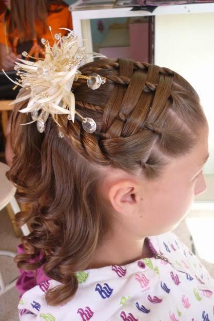 Moda Cabellos Lindos Peinados Para Niñas En Su Fiesta De Promoción