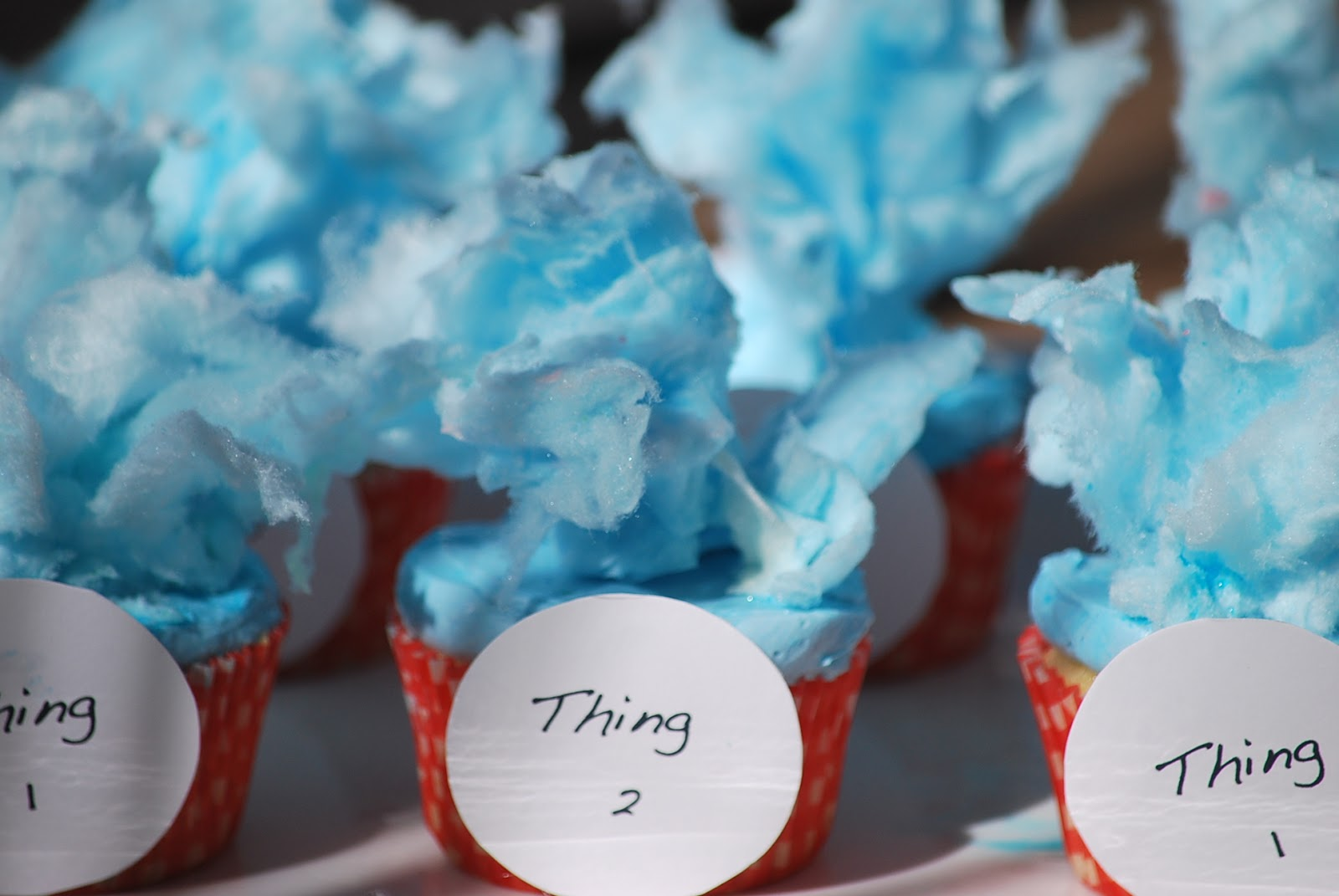 Dr Seuss Cupcake Liners