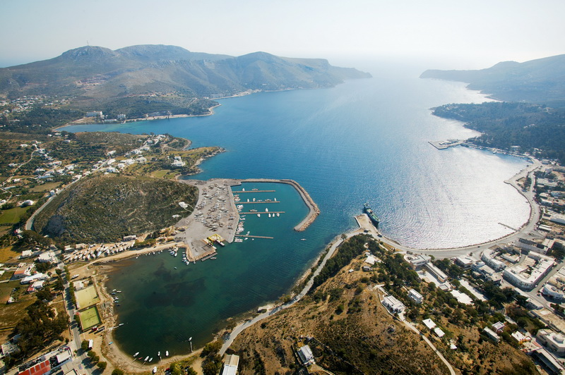 Leros Marina in Greece - another regular Survey location for Insight Marine Surveys Ltd.