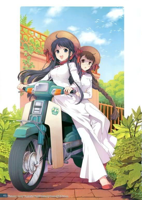 Việt Nam qua lăng kính Manga, Anime Game
