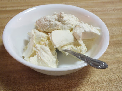 Homemade vanilla ice cream without sugar!