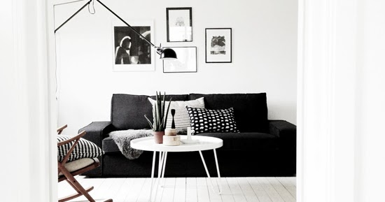Images from ollie and seb s haus photos by douglas gibb - Black And White Living Rooms My Paradissi