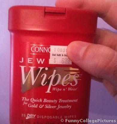 Jew Wipes