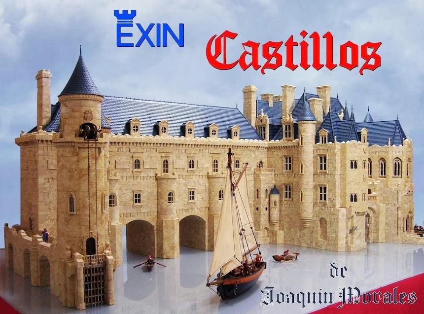 EXIN CASTILLOS   ¡ EL JUGUETE QUE HACE HISTORIA ! ... para construir mil y un castillos