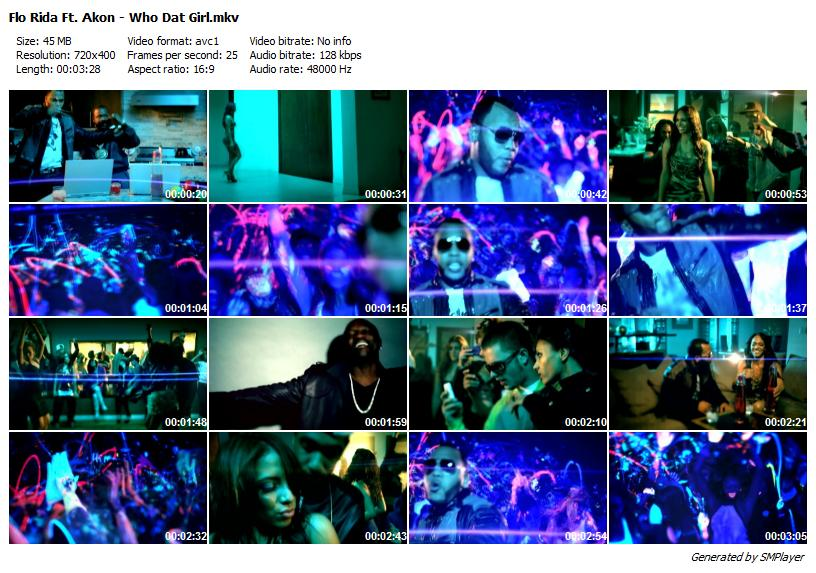 flo rida who dat girl. Flo Rida Ft. Akon - Who Dat