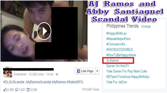 AJ Ramos and Abby Santiaguel Scandal Part 1 & Part 2 Video is Now Trending