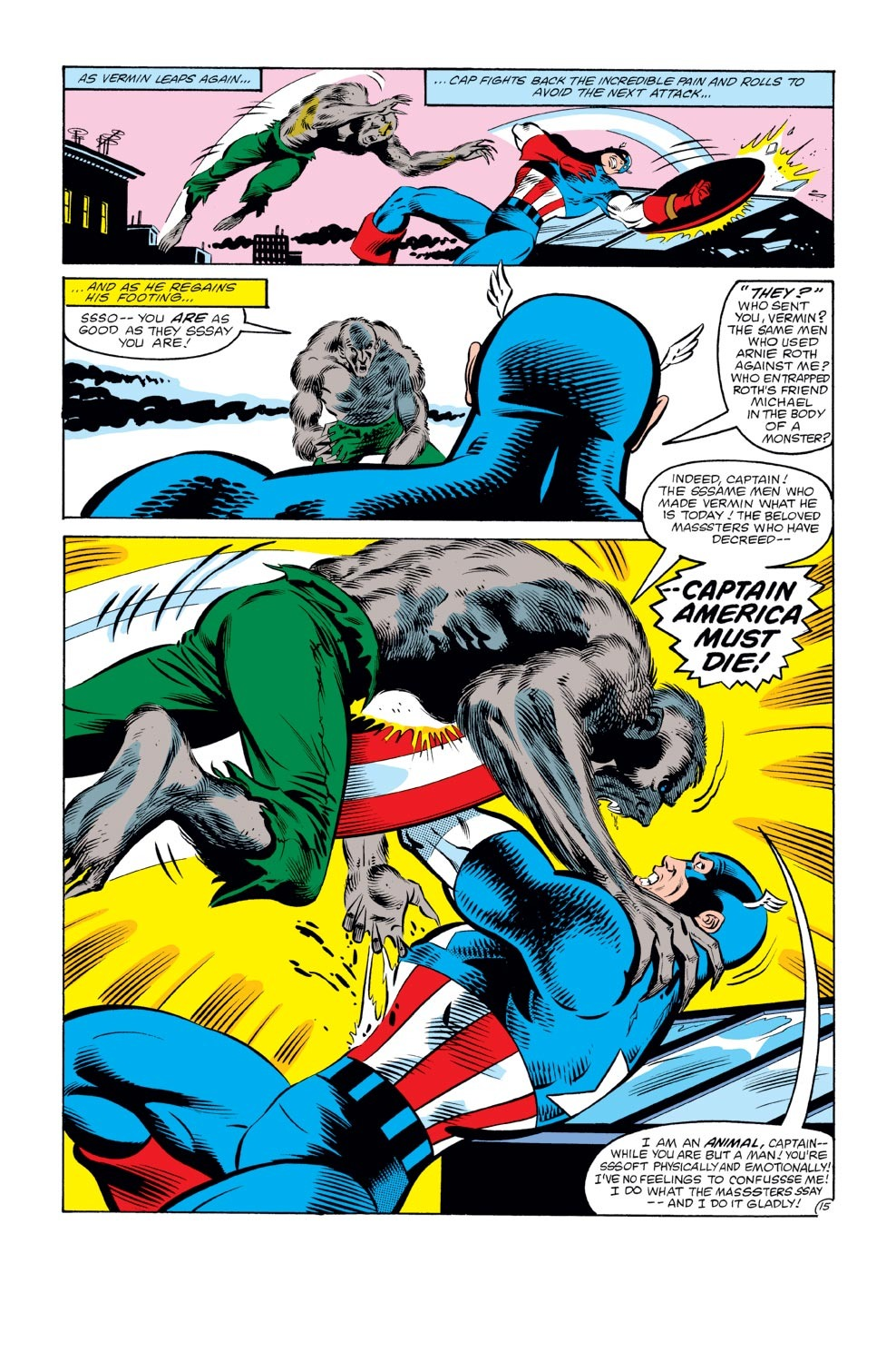 Captain America (1968) Issue #272 #188 - English 16