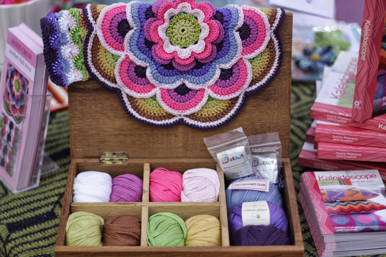 Things Wot I Have Made: The Knitting and Stitching Show 2013