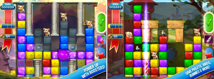 Today's Free App is Pet Rescue Saga. The successor of Candy Crush Saga. The game is available for free on iPhone, iPad, iPod touch & Android! Cheats +