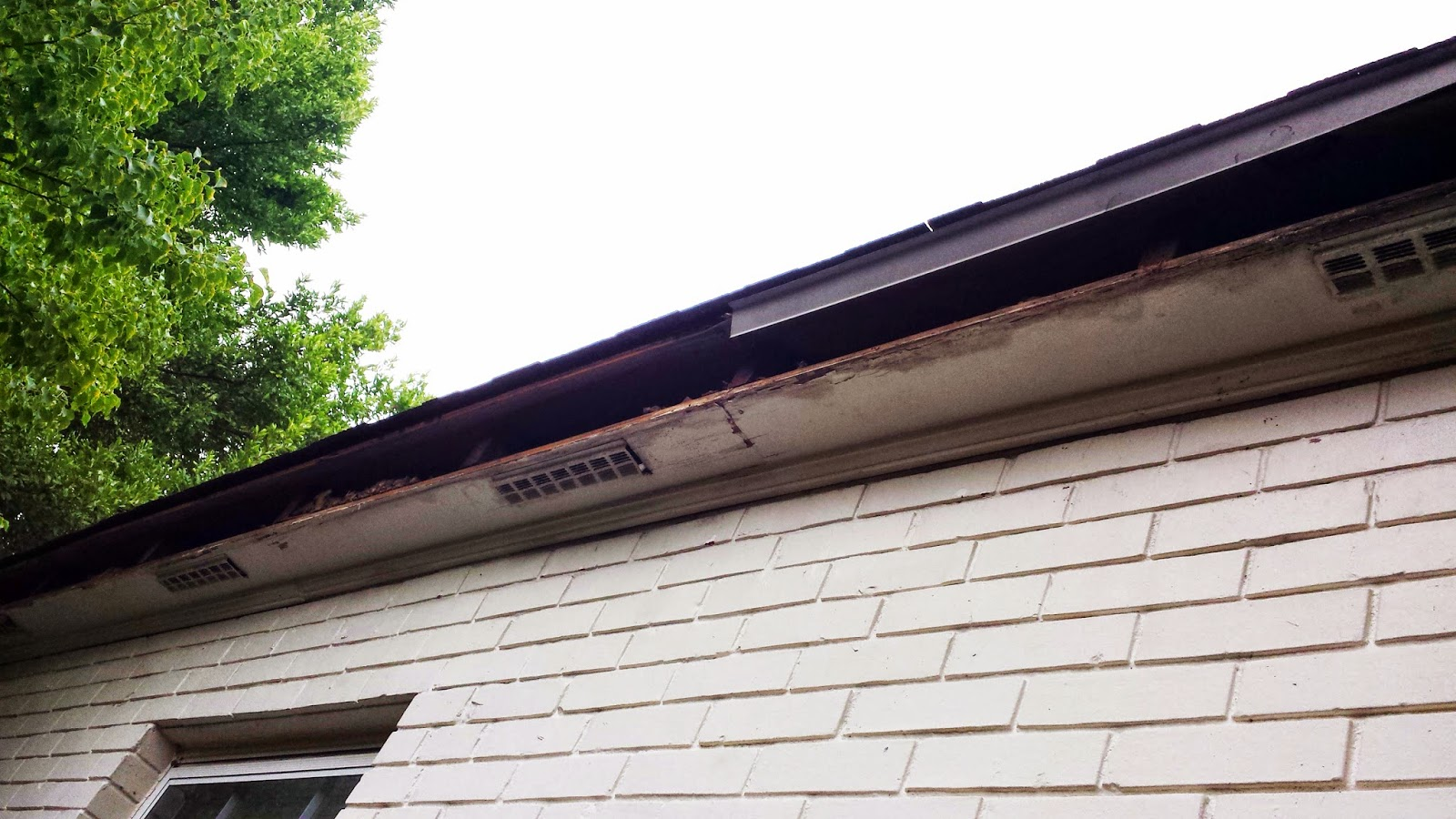 Replace fascia boards in sections - Using The Taping Knife Place It At The Crease Of The Drip Edge And The Shingle What Is Drip Edge Drip Edge Is The Shiny Metal That Flashes The Joint