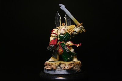 Latón en los exterminador de los Ángeles Oscuros de la caja de Warhammer: Venganza Oscura