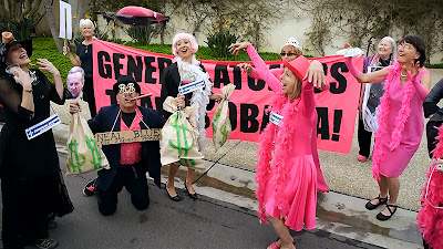 CODEPINK Attempts To Fly Drone Over War Profiteer's Mansion