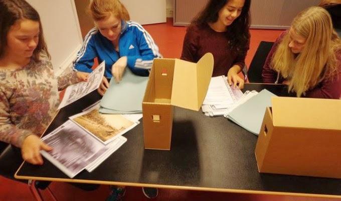 Leerlingen aan de slag met bronnen uit het archief