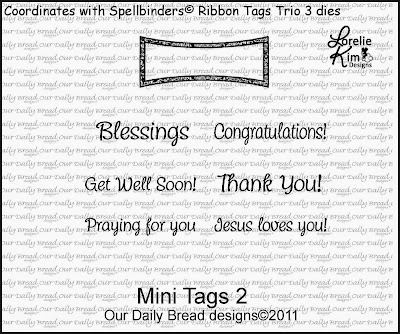 Stamps - Our Daily Bread Designs Mini Tags 2