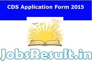 CDS Application Form 2015