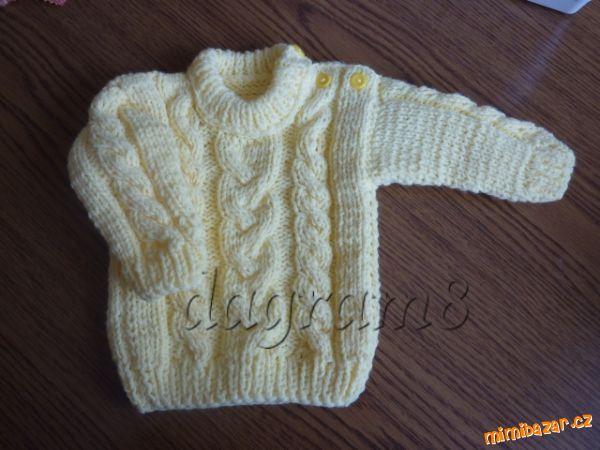 Ruční práce - pletené a háčkované drobnosti pro dětičky  Pletený ... 1f25a02fef
