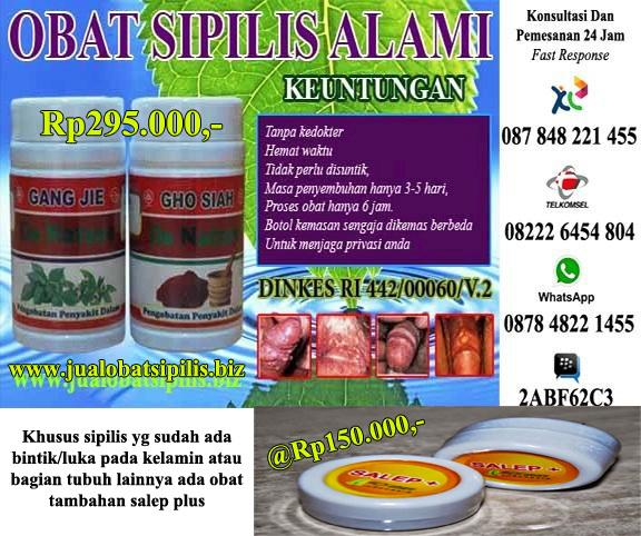 Obat Sipilis Alami Tradisional
