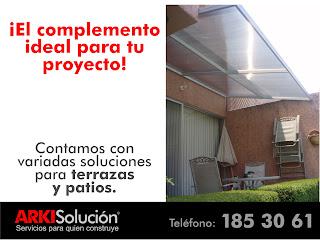 Ideas para mejorar tu casa soluciones para terrazas y domos - Soluciones para terrazas ...