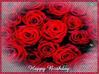 Happy Birthday with Red Roses, part 2