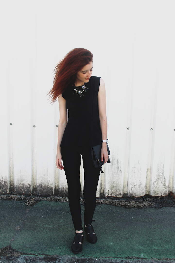 OUTFIT | Back to Black