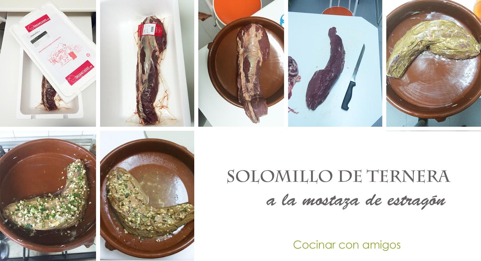 Solomillo de ternera a la mostaza cocinar con amigos - Solomillo de ternera al horno con mostaza ...