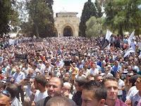 Hizbut Tahrir Palestina Kumpulkan Ribuan Orang di Masjid Al-Aqsa Peringati Keruntuhan Khilafah