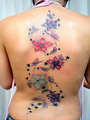 Fotos e dicas de Tatuagens Femininas de Borboletas