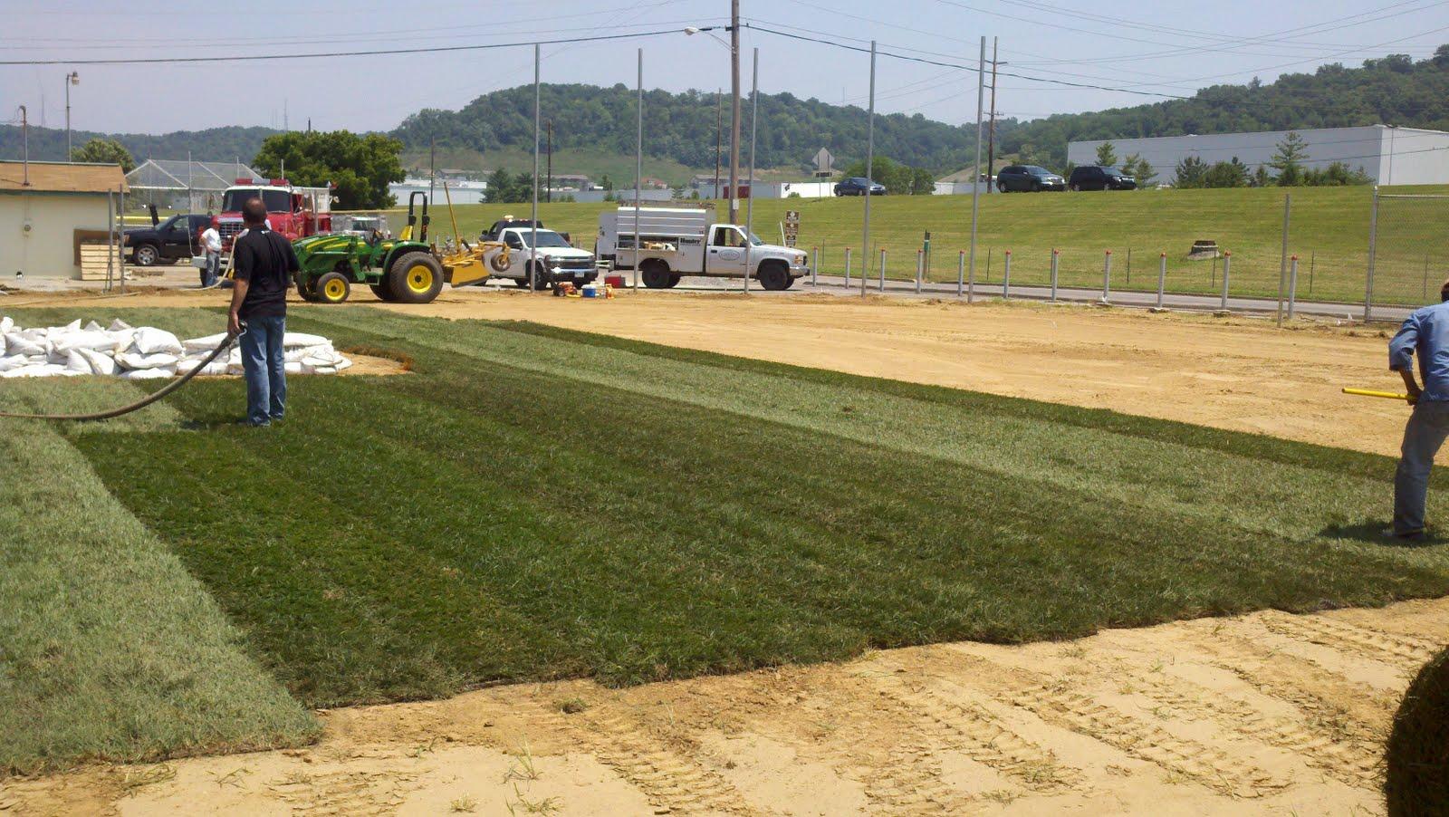 Smart Turf Pioneer Park Reds Community Fund Francisco Cordero Field