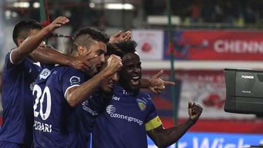Chennaiyin FC 3-0 Atletico de Kolkata