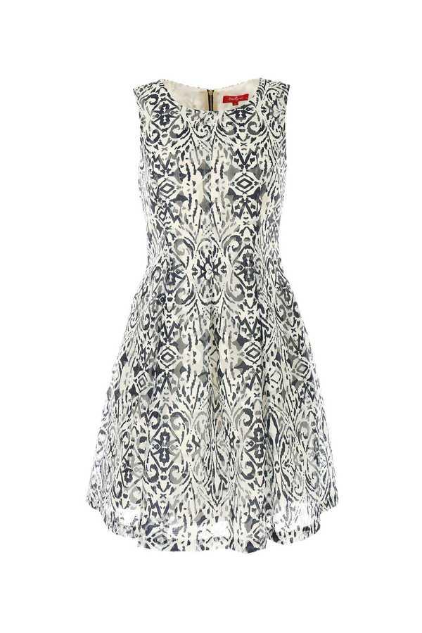 Φορεμα coctail ασπρομαυρο εισαγωγης