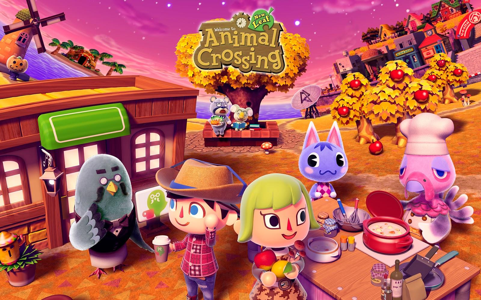 Das Cafe In Animal Crossing New Leaf