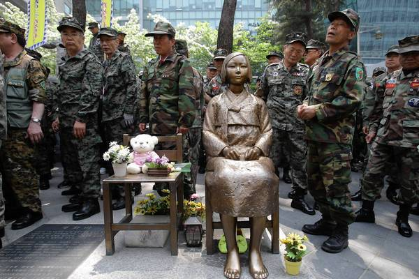 Tonys Thoughts Comfort Women And South Korean