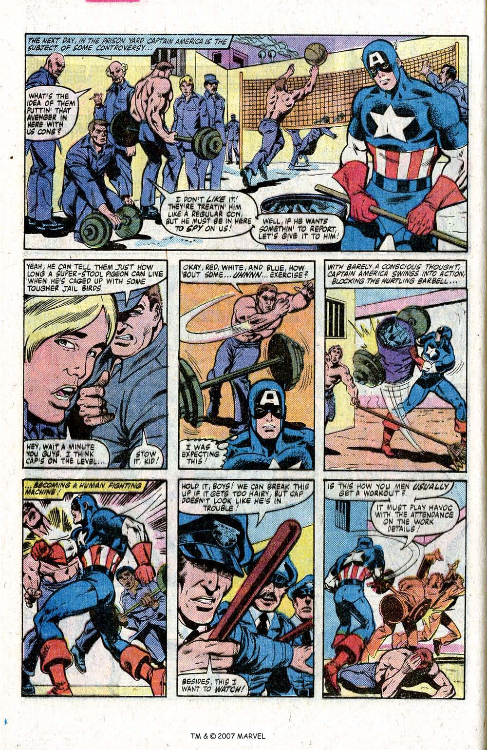 Captain America (1968) Issue #260 #175 - English 12