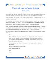 EL EXTRAÑO CASO DEL  AMIGO INVISIBLE