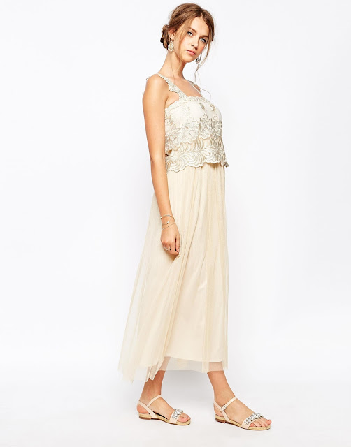 soma london lace dress, soma london embroidered dress, soma london nude dress,