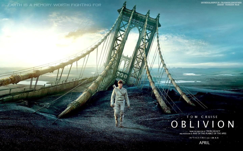 Paper Kay's Blog: Oblivion (movie)
