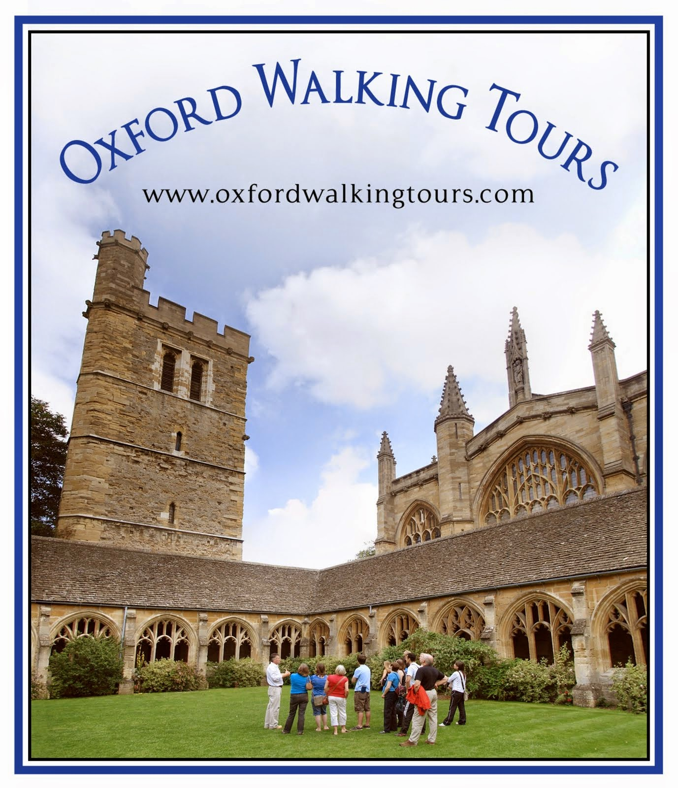 Oxford Walking Tours Link