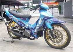 ide fiz r modifikasi road race