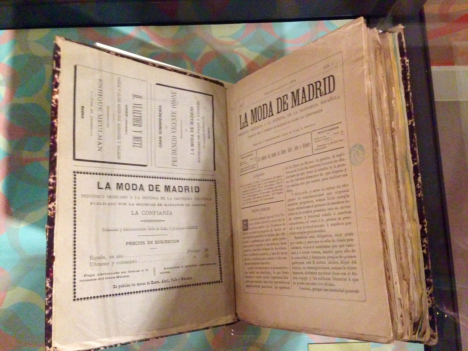 La Moda de Madrid, periódico dedicado a la defensa de la sastrería española