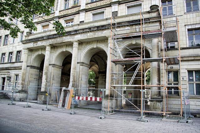 Baustelle Karl-Marx-Allee 6, 10178 Berlin, 19.06.2013