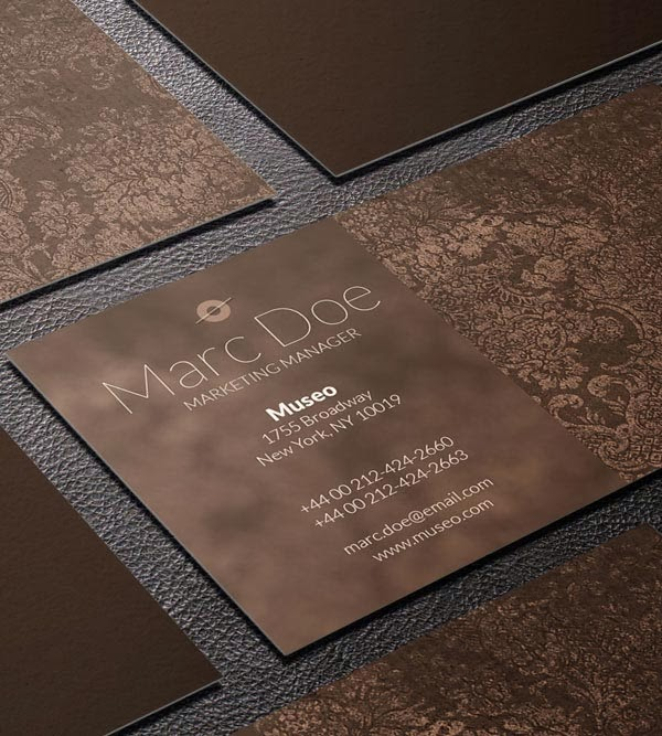 25 Free and HighQuality Business Card Templates for 2014 Jayce