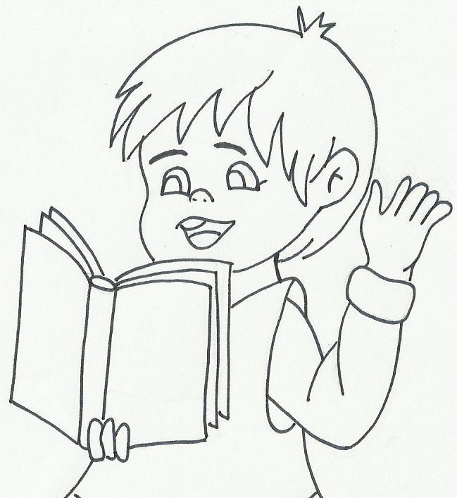 Imagenes De Un Niño Leyendo Un Libro Para Colorear picture gallery