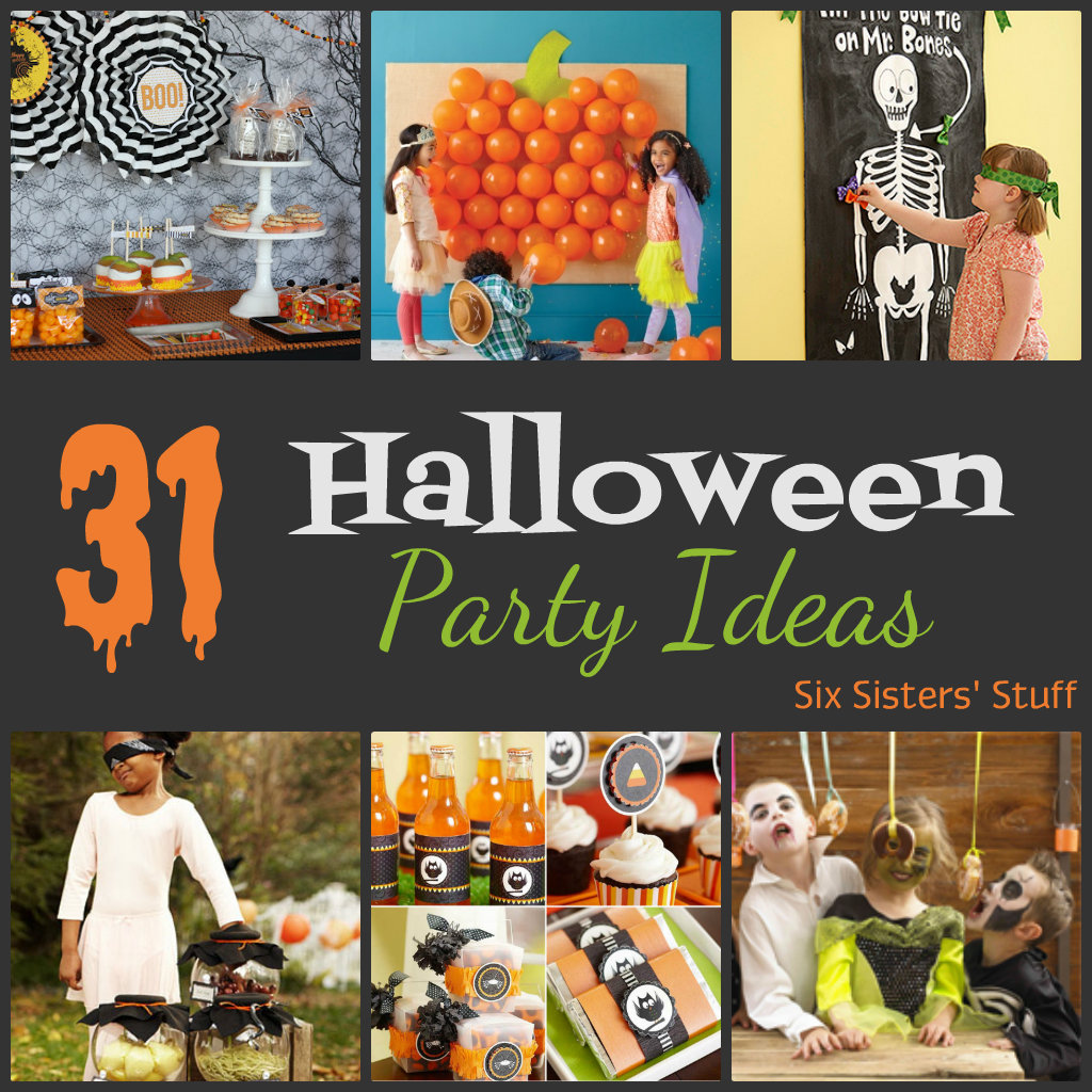 31 halloween party ideas six sisters 39 stuff
