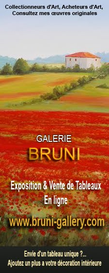 Site officiel du peintre Eric Bruni