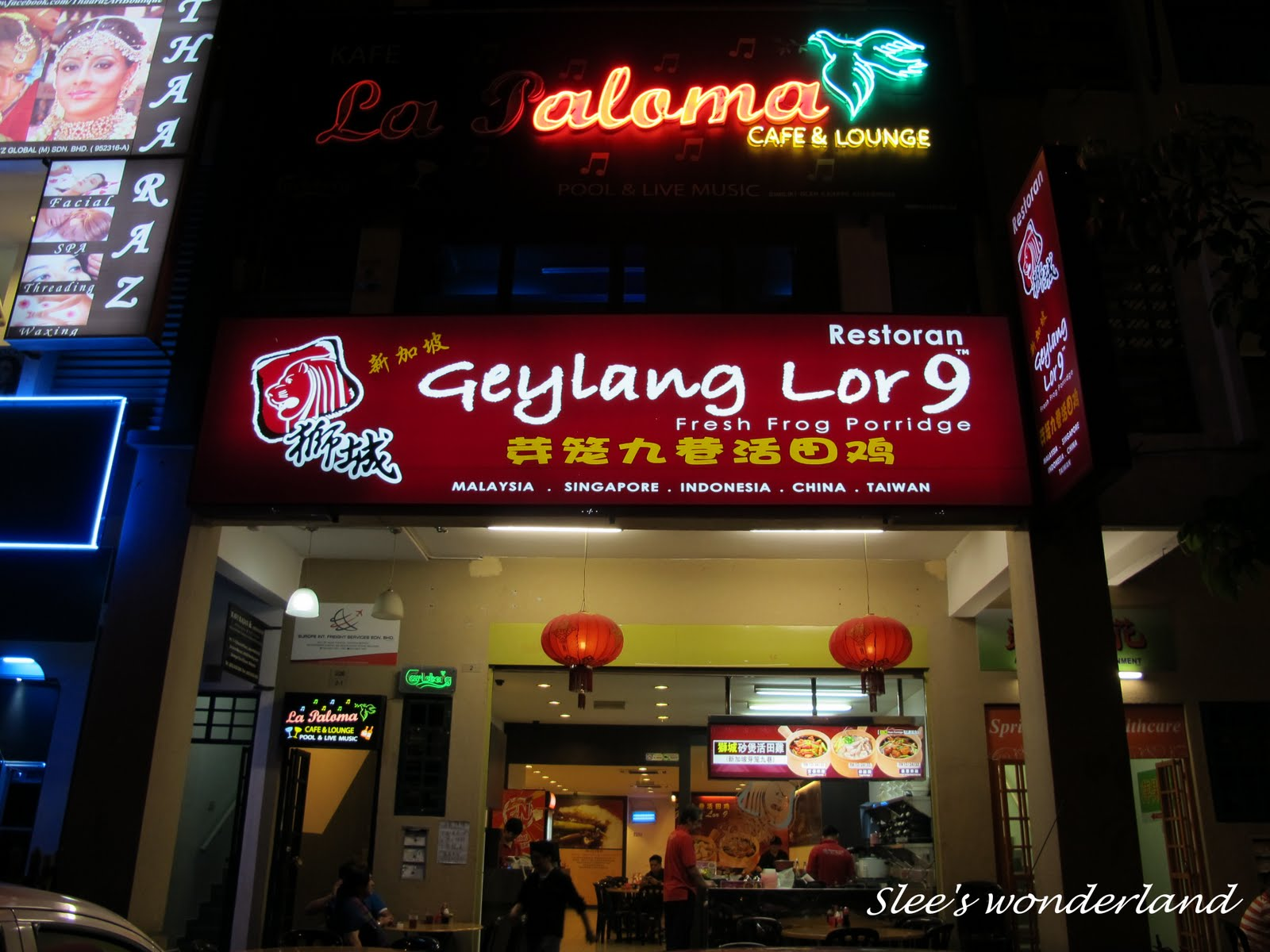 Good Food In Geylang Area