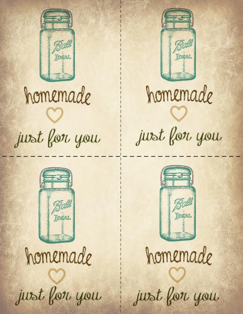 Mocha Doodle Designs: Ball Jar Printable Gift Tags