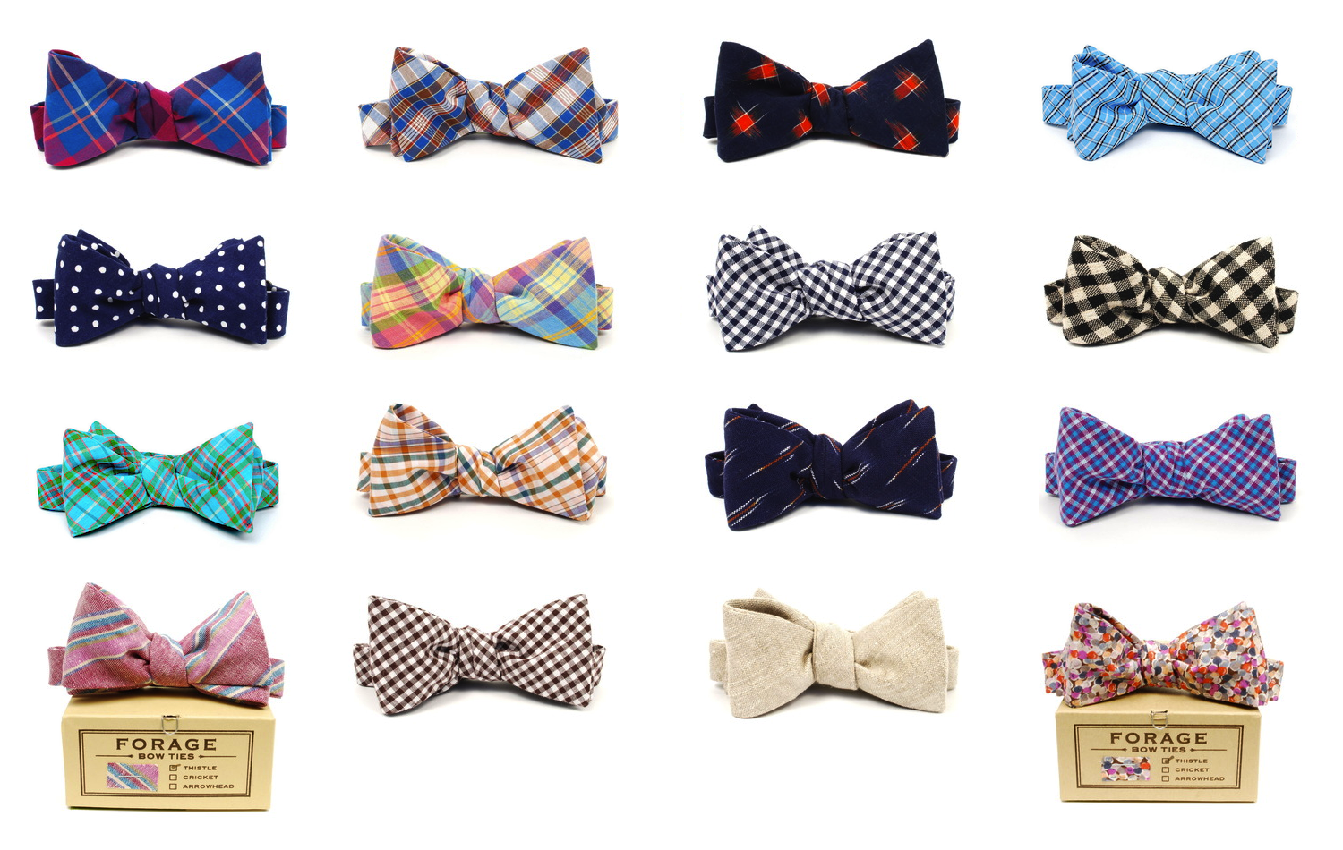 The bow tie / b oʊ / is a type of necktie.A modern bow tie is tied using a common shoelace knot, which is also called the bow knot for that reason. It consists of a ribbon of fabric tied around the collar of a shirt in a symmetrical manner so that the two opposite ends form loops.. There are generally three types of bow ties: the pre-tied, the clip on, and the self tie.