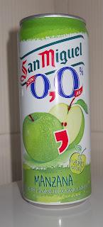 cerveza san miguel 0,0 sabor manzana